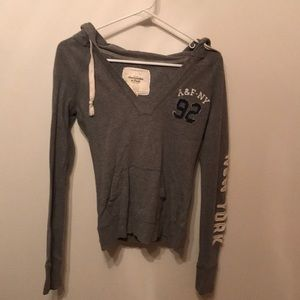 Abercrombie & Fitch Long sleeve hooded shirt